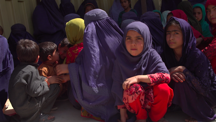 Patients in local clinics managed by the Taliban