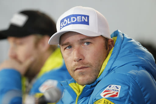 On Monday, June 11, 2018, it was announced that Bode Miller's 19-month-old daughter Emeline Miller died Sunday after paramedics pulled her from a swimming pool on Saturday. (AP Photo/Brennan Linsley)