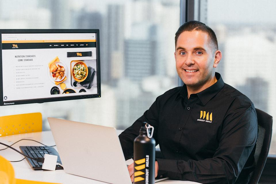 Tomi Jurlina has launched a successful food business. Image: Supplied