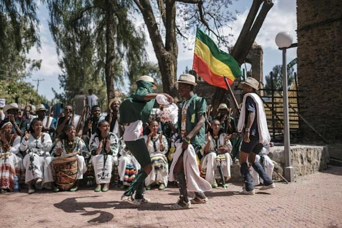 Even the official slogan of this year's celebration - 'Ethiopia's Rebirth at Gondar's Timkat' - is a reference to the Tigray conflict