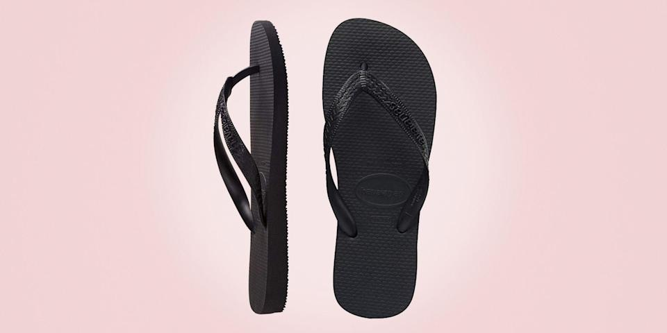 """<p class=""""body-dropcap"""">Flip-flops get a bad rap (even <a href=""""https://www.esquire.com/style/mens-fashion/a55920/flip-flops-worst-shoes-for-men/"""" rel=""""nofollow noopener"""" target=""""_blank"""" data-ylk=""""slk:on this very website"""" class=""""link rapid-noclick-resp"""">on this very website</a>, as it happens). But like so many things that once seemed <em>verboten</em> and now feel kinda fine to wear wherever—lookin' at you, Crocs and sweatpants—flip-flops don't really deserve all the flack that's been thrown their way over the years. Does the idea of wearing a pair on a crowded subway car or out to dinner with the in-laws still conjure deep feelings of dread from the very core of one's being? Sure does! But long gone are the days when any of us, even the most ardent anti-flopper, should expend any serious energy railing against the humble flip-flop. <br></p><p>Because here's the thing: Flip-flops do a job, and they do it well. They keep the bottoms of your feet covered when you're loping across the hot sand on the way to that perfect spot down the beach where you can lay out a towel and relax in front of the waves. They shield your soles from scorching cement as you shuffle from the pool to the poolside bar. And, sure, they will also keep you from making direct foot-to-sidewalk contact should you choose to wear them on your morning coffee run, a move that we here at Esquire will neither endorse nor rebuke. Plus, now that we're all experts in house shoes, it's worth noting that they make pretty decent house shoes. </p><p>Them's the breaks, flip-flop haters. The world has come around. Maybe it's time for you to do the same (or just get <a href=""""https://www.esquire.com/style/mens-fashion/g19745768/best-summer-sandals-for-men/"""" rel=""""nofollow noopener"""" target=""""_blank"""" data-ylk=""""slk:another pair of sandals"""" class=""""link rapid-noclick-resp"""">another pair of sandals</a>). And if you've always been pro flip-flop? Well, just do your best not to gloat, then pick up a pair (or two!) from the li"""