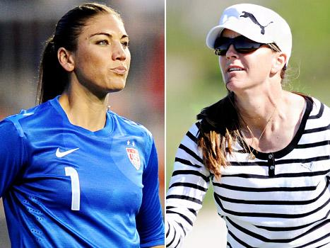 """Hope Solo Slams Soccer Player Brandi Chastain: """"The Game Has Changed"""""""