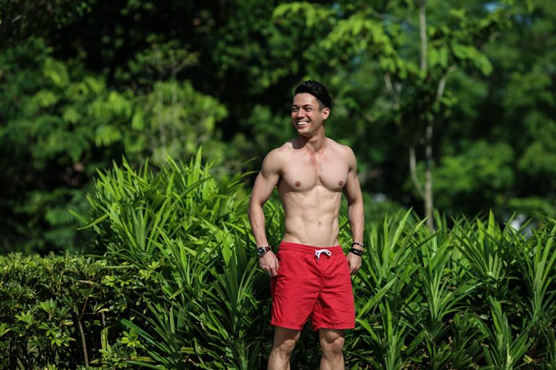Singapore #Fitspo of the Week: Aaron Mossadeg (PHOTO: Cheryl Tay)