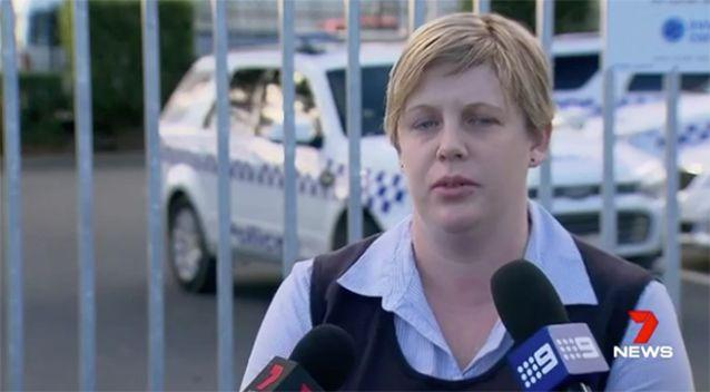 Det. Snr. Const. Nicole Spinks said people should not attempt to fight off armed offenders. Photo: 7 News
