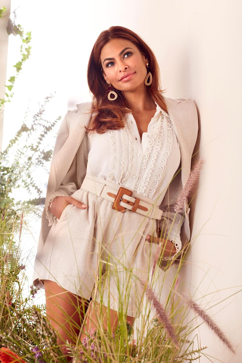 Eva Mendes in her spring collection for New York & Company (Photo: New York & Company)