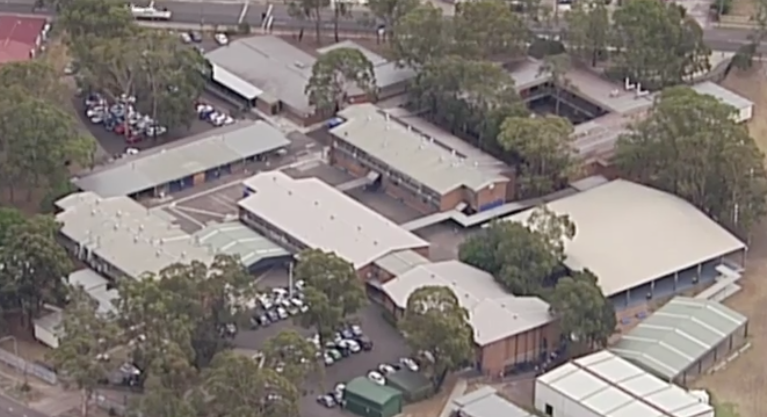 Three people were rushed to hospital from Bonnyrigg Hospital. Source: 7 News