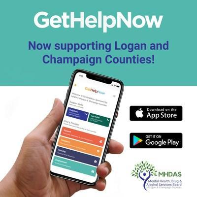 GetHelpNow - now supporting Logan and Champaign counties!  GetHelpNow helps connect patients in need of alcohol, drug addiction or mental health help with a network of service providers.