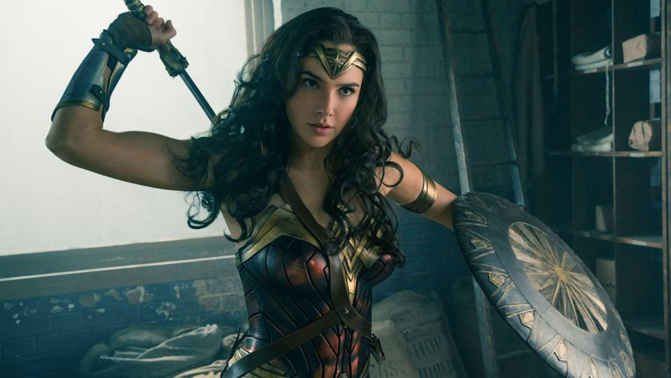 Gal Gadot in Wonder Woman, one of 2017's most critically and commercially-acclaimed movies (Warner Bros.)