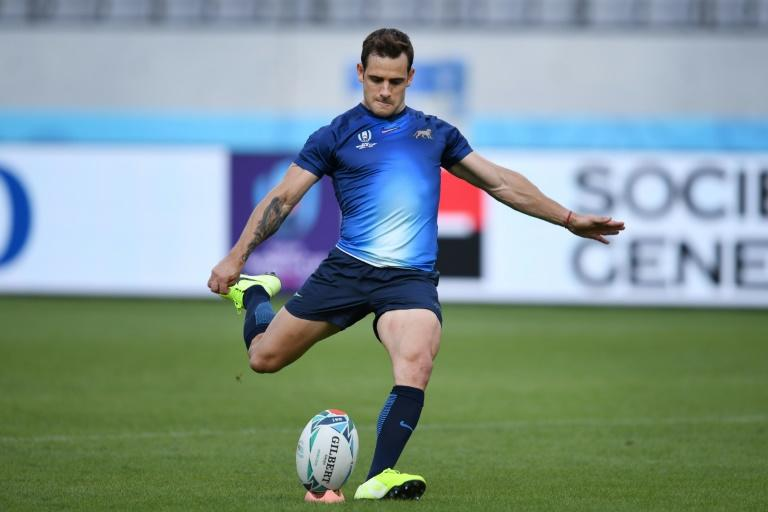 Argentina's fly-half Nicolas Sanchez will start for Argentina against France (AFP Photo/CHARLY TRIBALLEAU)