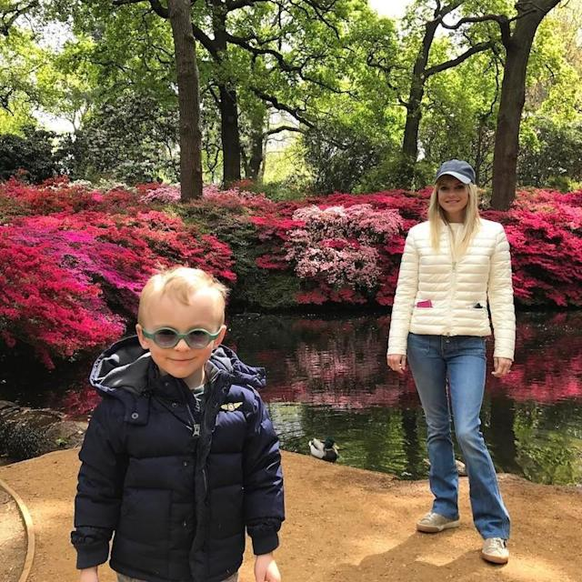 "<p>On Mother's Day, Pratt sent a tribute to Faris from England, where he was working, on a special occasion. ""A big Mother's Day kiss and hug across the pond to my darling wife @annafaris and our sweet boy. I miss you both so much. I love you,"" Pratt wrote. ""<a href=""https://www.instagram.com/p/BUFND29jJFM/?hl=en&taken-by=prattprattpratt"" rel=""nofollow noopener"" target=""_blank"" data-ylk=""slk:How beautiful are they"" class=""link rapid-noclick-resp"">How beautiful are they</a>?!"" (Photo: Chris Pratt via Instagram) </p>"