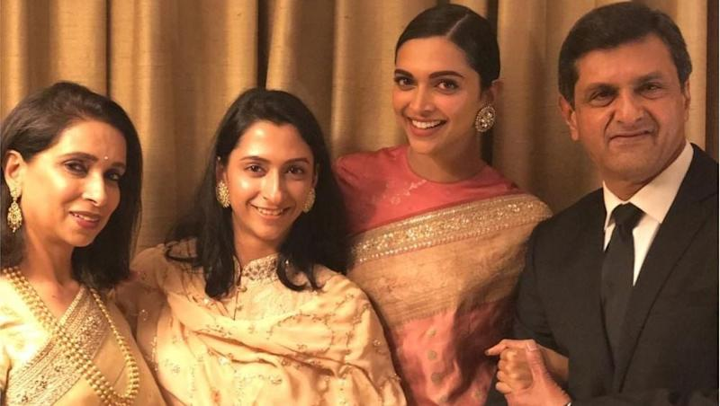 Deepika Padukone – Ranveer Singh Wedding: Bride's Sister, Anisha Padukone Does the Sweetest Gesture by Changing Her Instagram Name to 'Ladkiwale'