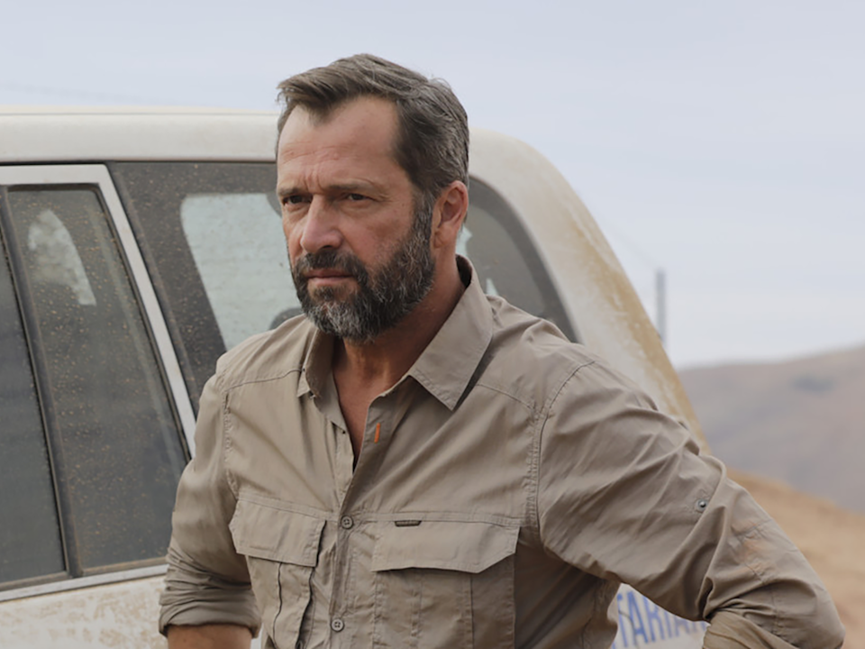 <p>As the mysterious Stanley in 'No Man's Land'</p>Starz