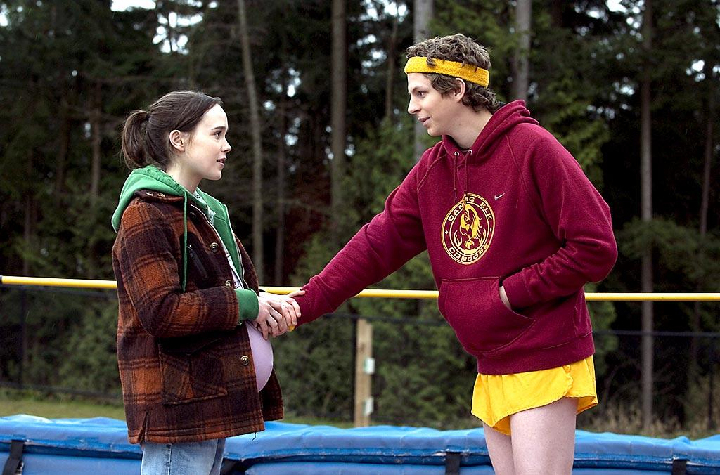 "10 years after ""Titanic,"" Ellen Page and Michael Cera charmed us as a pregnant teen and her quirky baby daddy in ""Juno."" How? By acting somewhat similar to actual teenagers, which is more than we can say for most movies. Oh, and their sweet duet of ""Anyone Else But You"" was a nice touch. Fox Searchlight/courtesy Everett Collection"