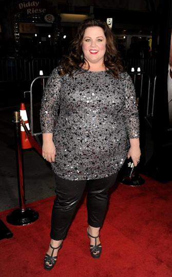 Melissa McCarthy at the premiere for 'Identity Thief' on Feb. 4 in Los Angeles