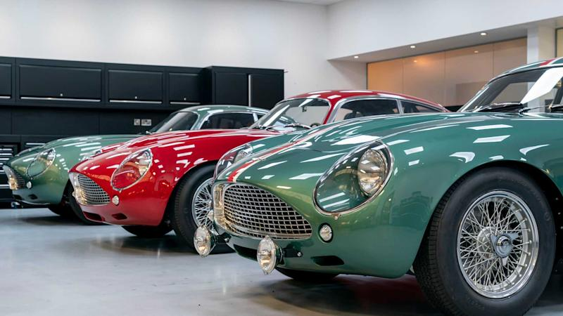 Aston Martin DB4 GT Zagato deliveries commence