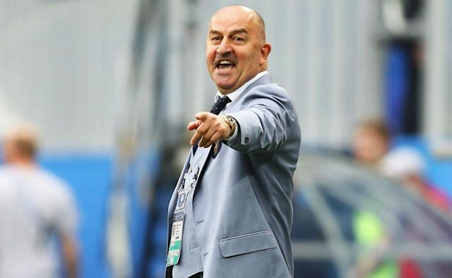Manager Stanislav Cherchesov has come under fire for his team's performance at the Confederations Cup. (Getty)