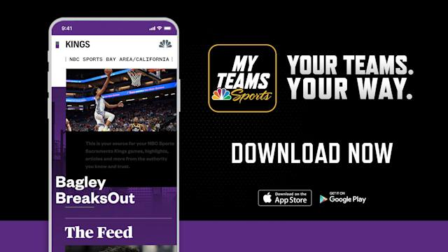 Here's how to watch the Kings and the Suns on the MyTeams app, and on NBC Sports California.
