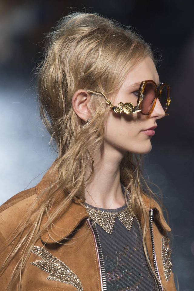 <p><i>'70s-style oversized statement sunglasses from the SS18 Coach collection. (Photo: ImaxTree) </i></p>
