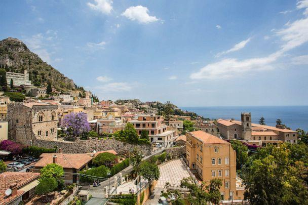 PHOTO: View From Excelsior Palace Hotel in Taormina (Oyster.com)