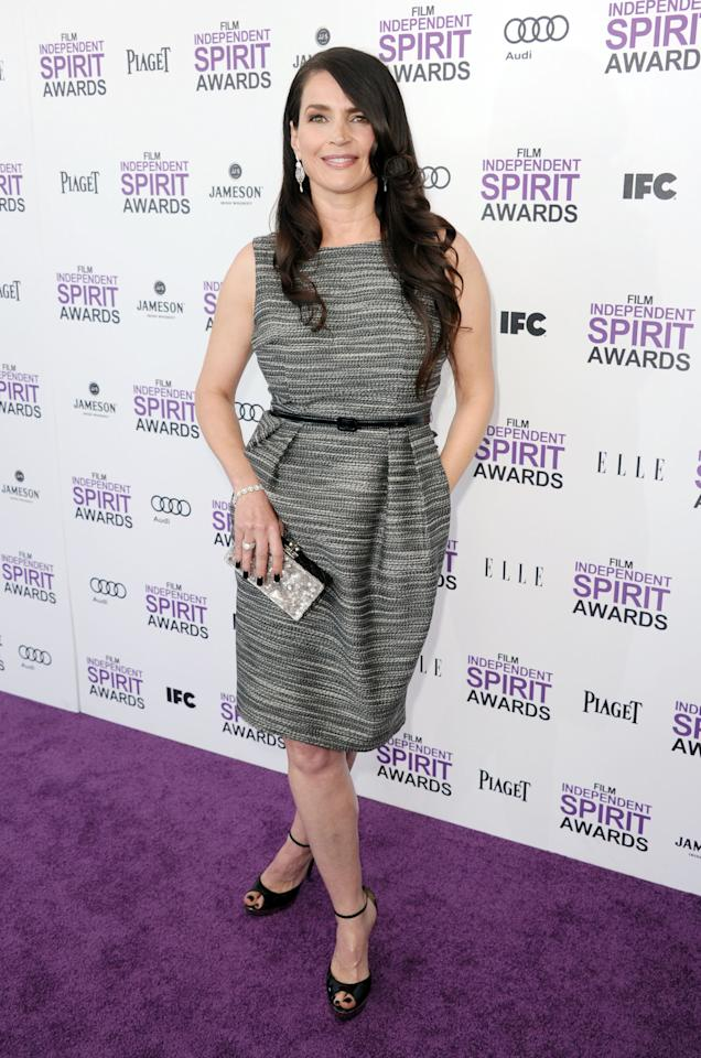 SANTA MONICA, CA - FEBRUARY 25:  Actress Julia Ormond arrives at the 2012 Film Independent Spirit Awards on February 25, 2012 in Santa Monica, California.  (Photo by Kevin Winter/Getty Images)