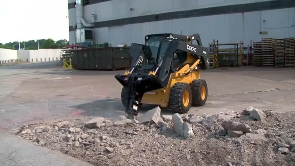 U.S. tractor and construction equipment maker Deere & Co revised up its full-year earnings estimate on stronger demand for its construction equipment, sending shares were up more than three percent in early trading. Aleksandra Michalska reports.