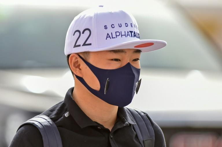 Japan's F1 rookie Yuki Tsunoda is just 5ft 3in (1.59 metres) tall so AlphaTauri have extended his pedals in the cockpit