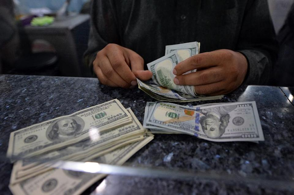 The World Bank warned emerging economies around the world Wednesday of a rocky road ahead as the US moves toward tightening monetary policy and the dollar strengthens (AFP Photo/Aamir Qureshi)