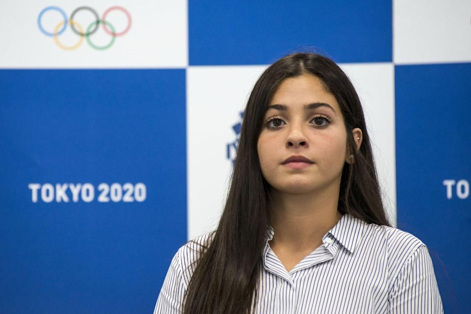 """<p><a href=""""http://olympics.com/en/news/yusra-mardini-exclusive-refugees-tokyo"""" class=""""link rapid-noclick-resp"""" rel=""""nofollow noopener"""" target=""""_blank"""" data-ylk=""""slk:Yusra Mardini"""">Yusra Mardini</a> was another athlete who competed with the Refugee Olympic Team in Rio 2016. Born in Syria and now residing in Germany, she spoke about her experiences amid a postponed Games in a live chat on <a href=""""http://www.instagram.com/tv/CDB2fLgJ3tk/?utm_source=ig_embed&amp;ig_rid=66d06acf-2470-49f6-b8e6-e9abc13a62f6"""" class=""""link rapid-noclick-resp"""" rel=""""nofollow noopener"""" target=""""_blank"""" data-ylk=""""slk:Instagram last year"""">Instagram last year</a>, saying at the time that she was training """"better than ever.""""</p> <p><strong>Event competing:</strong> women's 100m butterfly</p> <p><strong>Follow Yusra Mardini on Instagram:</strong> <a href=""""http://www.instagram.com/yusramardini/"""" class=""""link rapid-noclick-resp"""" rel=""""nofollow noopener"""" target=""""_blank"""" data-ylk=""""slk:@yusramardini"""">@yusramardini</a></p>"""