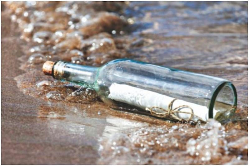 American Boy's Message in a Bottle Found on French Beach After 9 Years of Being at Sea