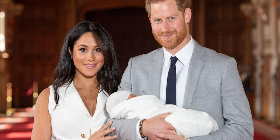 prince harry and meghan markle lied to the press about archie s birth to protect him from the paparazzi prince harry and meghan markle lied to
