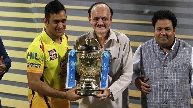 M.S Dhoni has won three titles with CSK.
