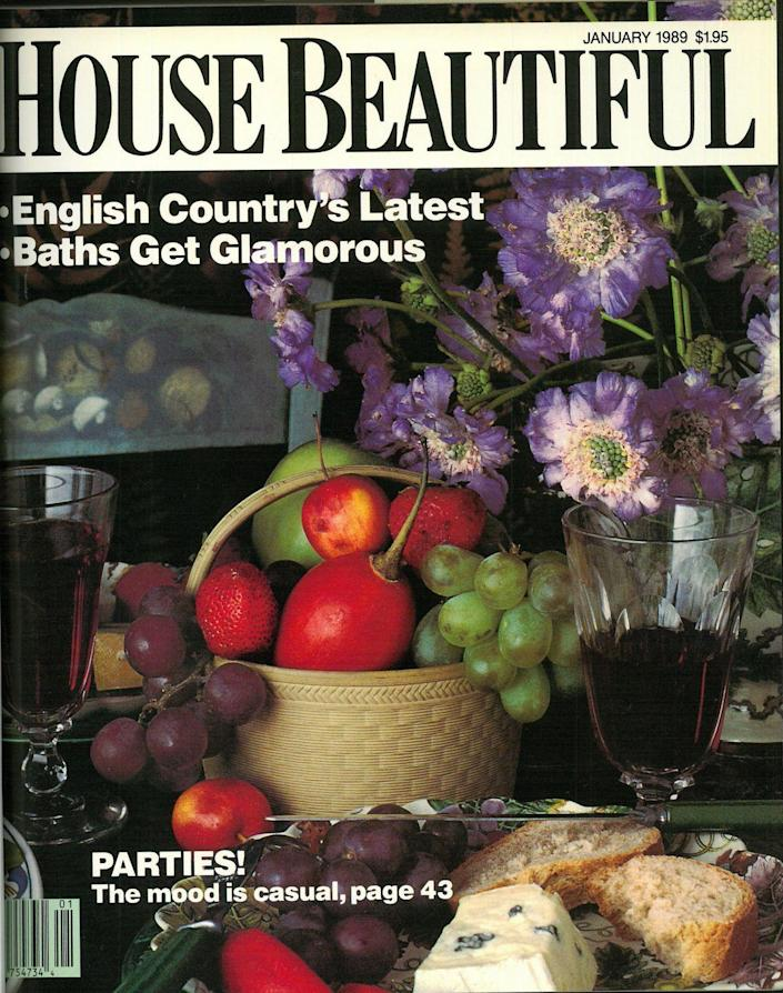 <p>Another year called for more glasses of red wine and a cheese platter, of course.</p>