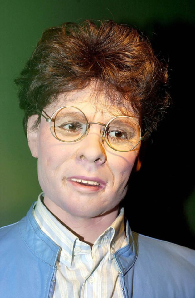<p>We bet poor old Cliff Richard was just chuffed with this version of himself. Copyright: [Albanpix] </p>