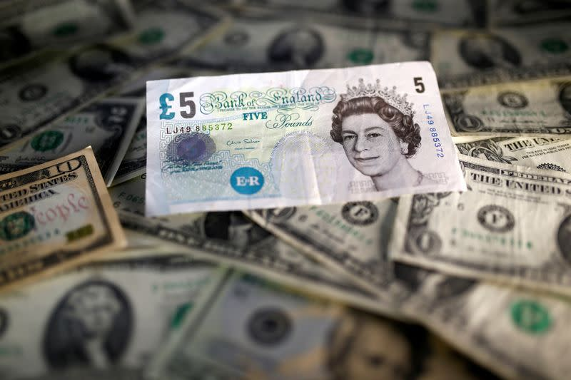 Hard Brexit fears drive pound from one and half year high, dollar up