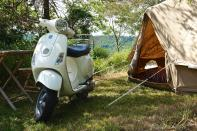"""<p><span>Hidden in the hills of Majella National Park in central Italy, tent-only </span><a href=""""https://coolcamping.com/campsites/europe/italy/rome-central-italy/abruzzo/1449-kokopelli-camping"""" rel=""""nofollow noopener"""" target=""""_blank"""" data-ylk=""""slk:Kokopelli"""" class=""""link rapid-noclick-resp""""><span>Kokopelli</span></a><span> allows a maximum of 40 campers. Pitches, set among the olive trees, are accompanied by modern facilities, while the tiny cluster of shops and the 11th-century abbey of Serramonacesca is a short stroll away. The Adriatic coast is just a short drive away. A tent and two people from €20 (£17). [Photo: Cool Camping]</span> </p>"""