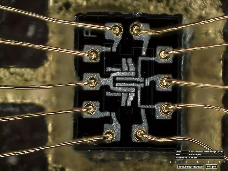 Integrated circuits, or microchips, were a necessary part of the miniaturization process that allowed computers to be placed on board spacecraft, in contrast to the giant, power-hungry vacuum tube technology that came before (AFP Photo/HO)