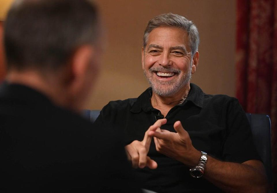 George Clooney on The Andrew Marr Show (PA)