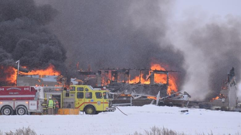 'They lost everything': Massive fire destroys home northwest of Saskatoon
