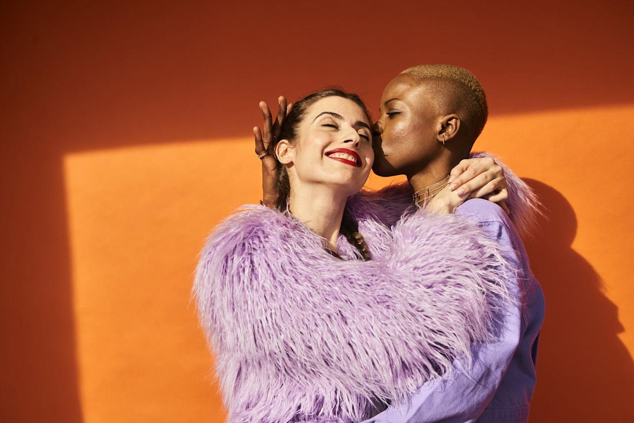 <p>Seriously. 'Many couples only talk about what's wrong in their relationship, but research has found that couples who focus on what's working are much happier over time than those who try to purely 'fix' their problems,' says Orbuch. Now go treat yourselves for being so awesome.</p>