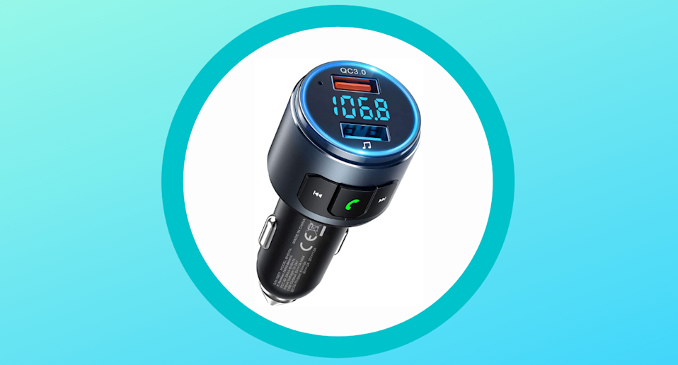 The top-rated VicTsing FM Transmitter is on sale now for just $19.
