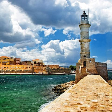 Chania Old Town, Crete - Credit: GIC The Villa Collection