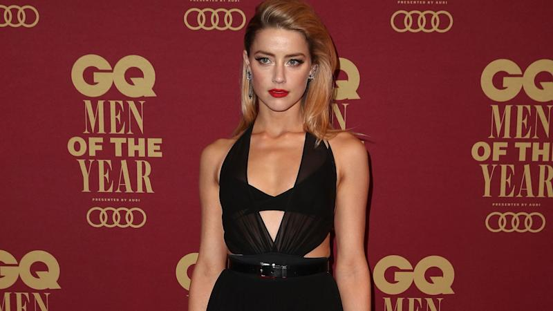 Amber Heard Speaks out for Survivors While Protesting Kavanaugh Nomination on Capitol Hill