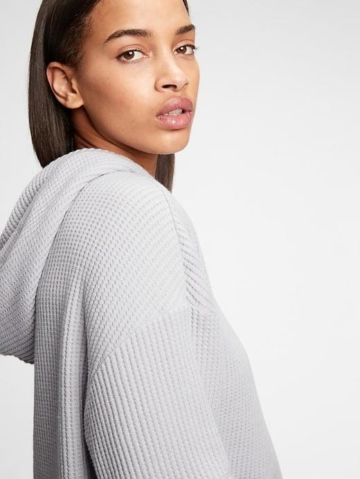<p>This thermal <span>Gap Waffle-Knit Hoodie</span> ($51, originally $60) is super cozy . . . and so are the matching <span>Gap Waffle-Knit Joggers</span> ($38-$47, originally $55).</p>