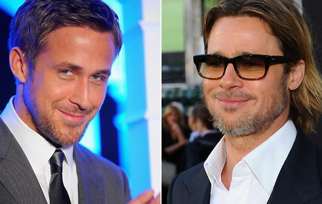 (Ryan Gosling and Brad Pitt)