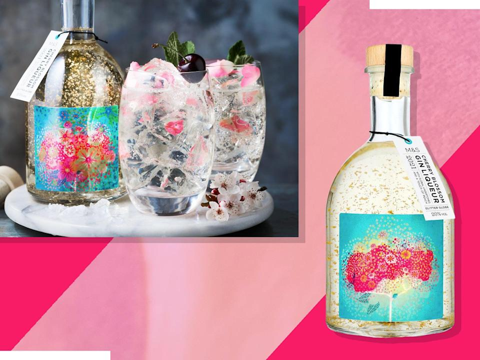 <p>The drink, which contains edible gold leaf, is inspired by cherry blossom trees</p> (iStock/The Independent)
