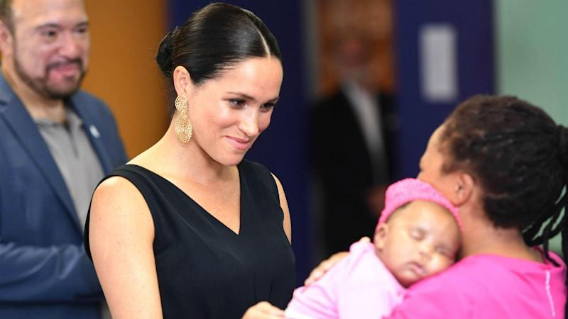 Meghan Markle Gives Baby Archie's Old Clothes to African Charity: Watch!