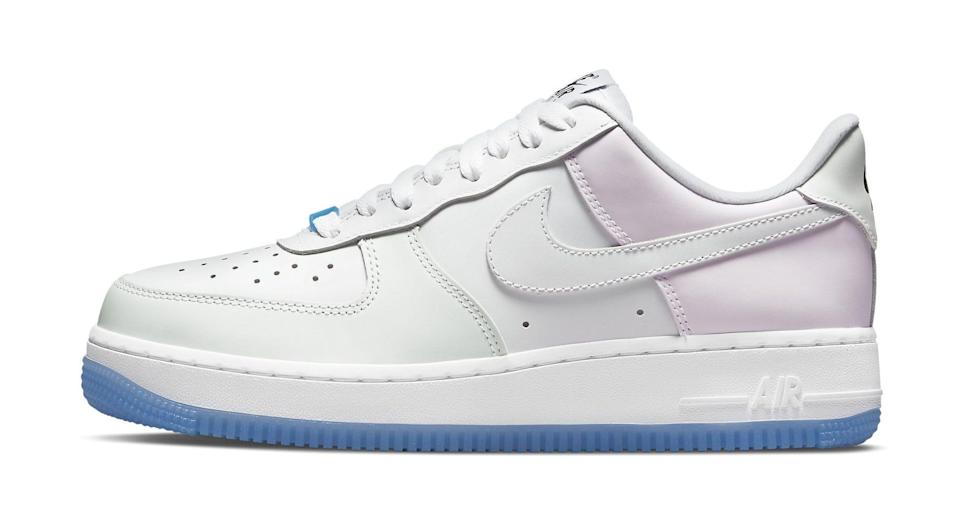 The lateral side of the Nike Air Force 1 Low Women's. - Credit: Courtesy of Nike