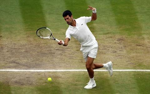<span>Djokovic doesn't want to get into another situation where he has to have surgery</span> <span>Credit: PA </span>