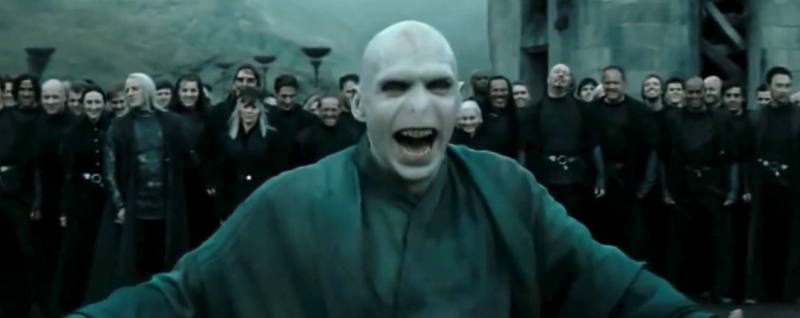 The actor who played Voldemort has literally no idea where that iconic laugh came from