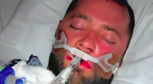 George Pickering III was admitted to hospital after suffering a stroke. Photo: KPRC